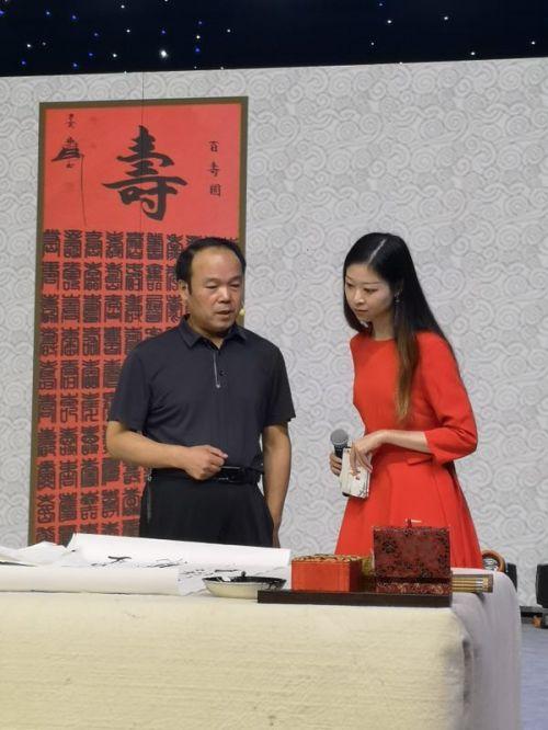 著名书画家隋海成先生受邀参加吉林卫视聚星汇