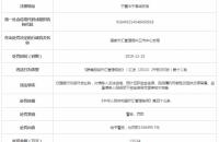 建设银行中宁违法支行遭罚136万 内保外贷审核不完备