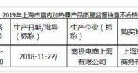 南极电商上海公司产五面取暖器抽查不合格 1号店出售
